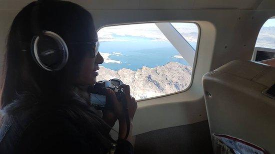 Tusayan, AZ: Inside the plane