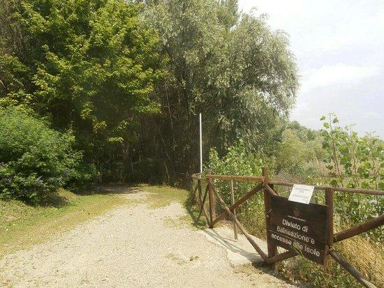 Signa, Italien: per passeggiare. Divieto di balneazione