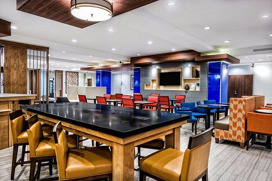 Round Rock, تكساس: Breakfast Great Room