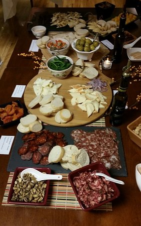 Pawcatuck, CT: Charcuterie Holiday Event Featuring Blood Orange Cranberry Salsa and Walnut Green Bean Spread