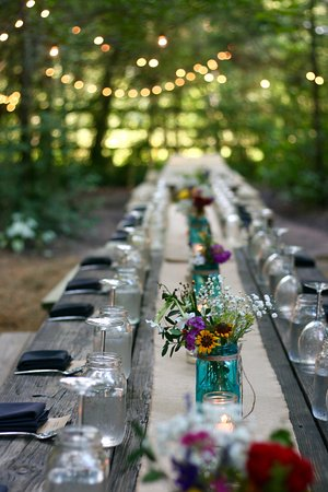Bryan, TX: Long Tables in The Forest