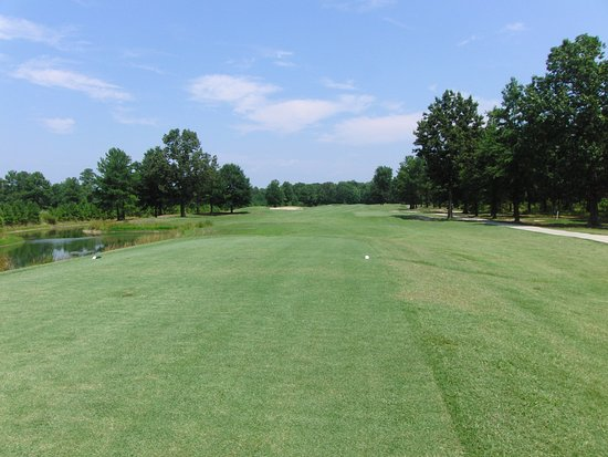 Tappahannock, VA: Opening Tee shot on Hole #1