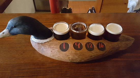 Old Forge Brewing Company: Beer flight