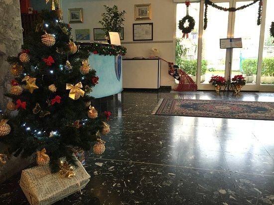 Hotel Savoia: Hall versione natalizia