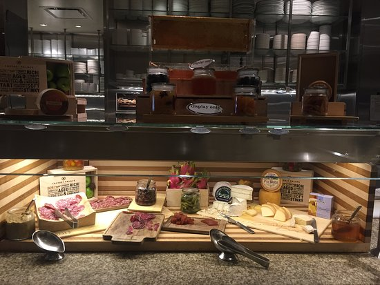 Bacchanal Buffet: Cheese and Salami Table