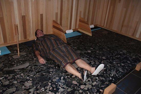 Blue Mountains, Canada: In the gan-ban yoku room