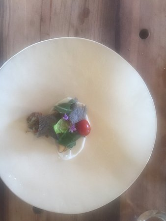 Paternoster, South Africa: fish salad