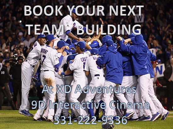 Saint Charles, IL: Book your Team Building Party with us
