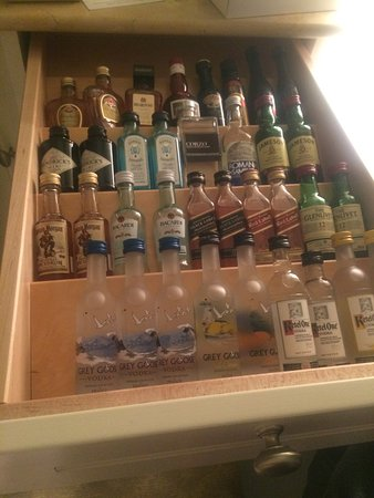 Harwich, MA: The mini bar drawer