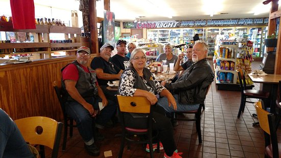"""Micanopy, Floryda: Our group getting ready to """"dig in""""."""
