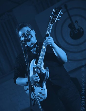 Bloomsburg, PA: Gabe Stillman at the Destination Blues Music Festival