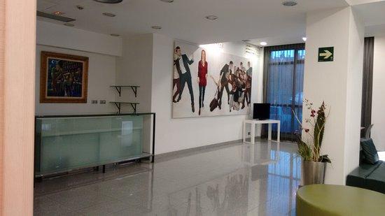 Leioa, España: ZONA RECEPCION