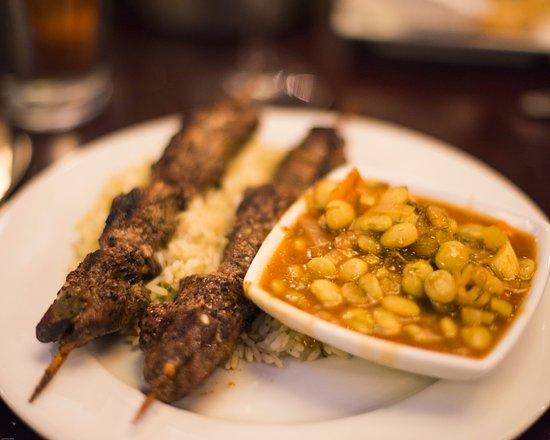 Mechanicsburg, PA: Lamb souvlaki and yigantes plaki - perfect!