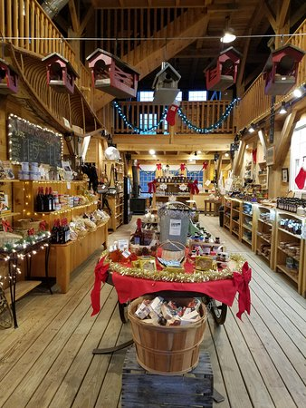Putney, VT: Our Farm Store decked out for the Holiday Season