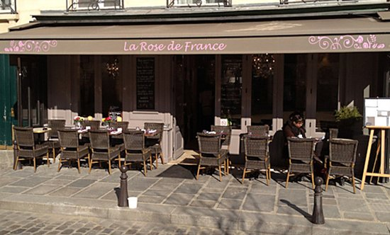 Houten Keuken La France Rose : la terrasse Picture of La Rose de France, Paris
