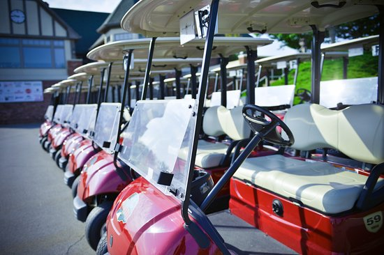 Sellersburg, IN: State of the art GPS equipped carts
