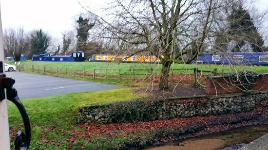 Acton Trussell, UK: A beautiful december morning from room 110