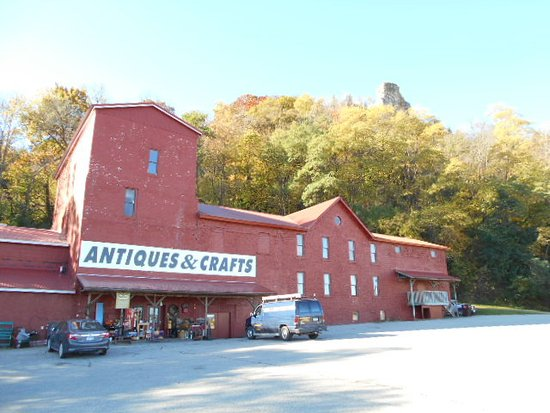 Winona, MN: Treasures Under Sugar Loaf nestled under the prominent landmark