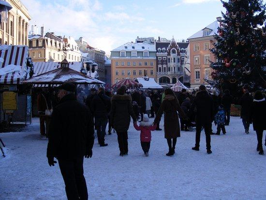 St. Peter's Boutique Hotel : A market square.