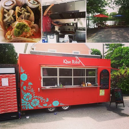 Newcastle, ME: Our food trailer!