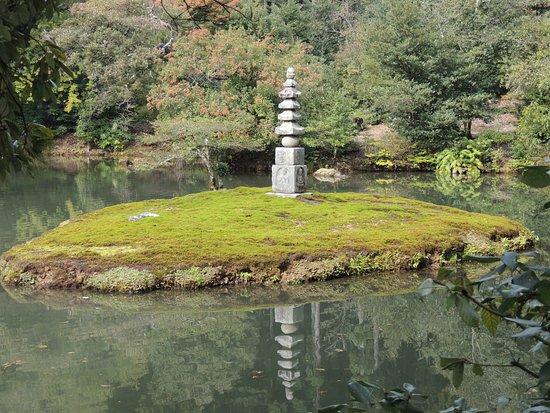 templo del pabelln de oro kinkakuji jardines zen con las mticas