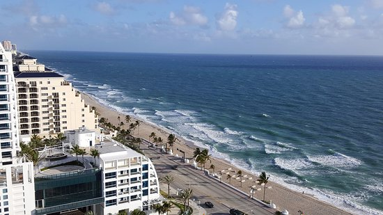 Hilton Fort Lauderdale Beach Resort View From The 21st Floor North Side