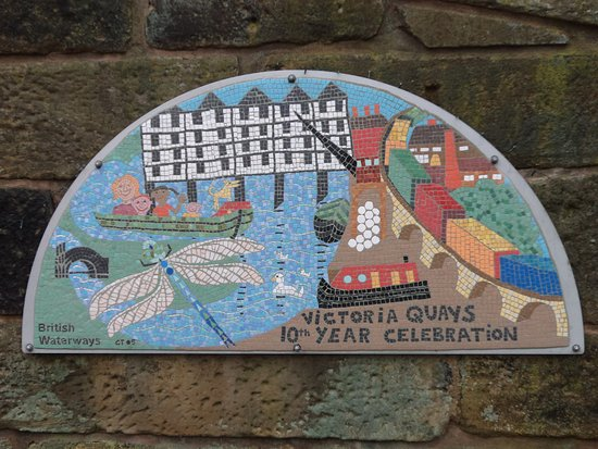 Five Weirs Walk: Mosaic in Victoria Quays