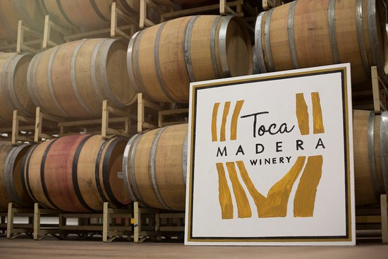 Private tastings and tours available at Toca Madera Winery. Call to book!