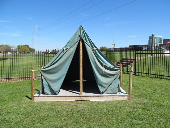 Commerce, TX: Boy Scout Tent
