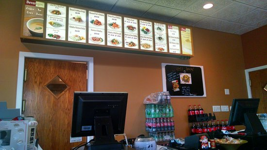 Chadds Ford, Pennsylvanie : Front counter for takeout