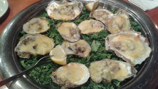 Brandon, FL: Baked Oysters with Asiago & Garlic Butter - So Delicious!!