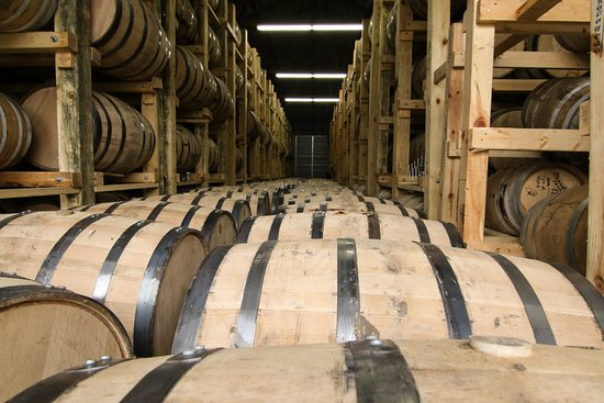 Osakis, Миннесота: View from inside one of our barrel warehouses. (photo credit: nostyleproductions & tylertheinnov