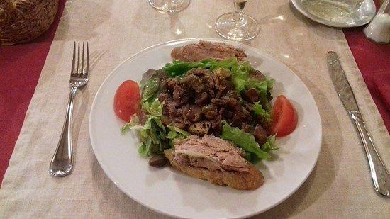 Mussidan, ฝรั่งเศส: salade périgourdine