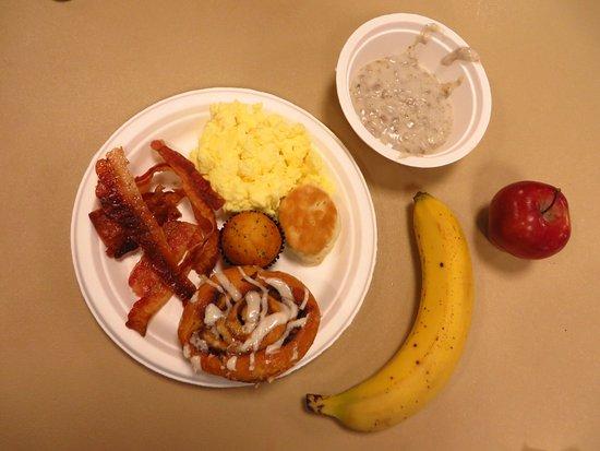 Klamath, Kalifornien: Breakfast