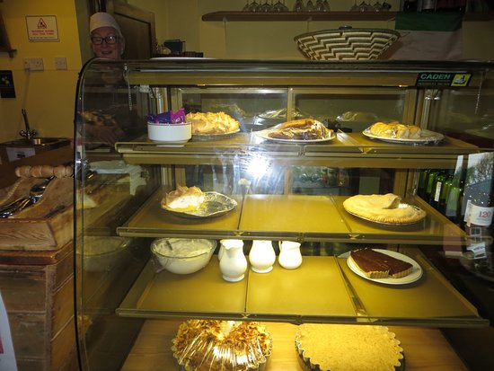 Ballycastle, Ireland: Case filled with goodies