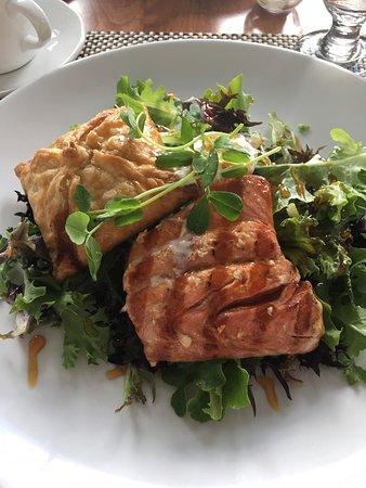 Point no Point: Wild Salmon with Parsnip Strudel