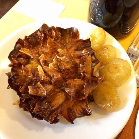 Piatto romano roma aventino ristorante recensioni for Cibo romano