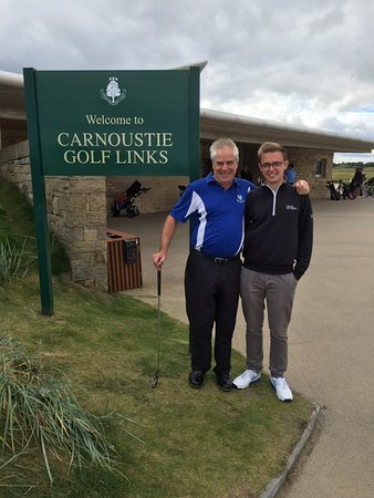 Carnoustie, UK: Good day Tuesday