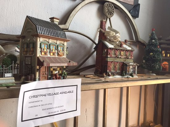 sugar tit moonshine distillery christmas village and more antiques for sale