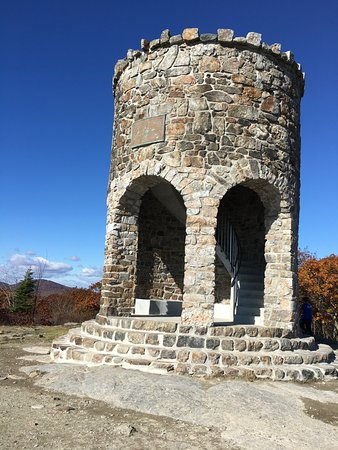 Camden, ME: The Tower at Mount Battie..