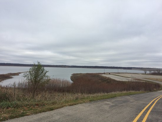 Johnston, IA: Boat ramp at Lakeview Recreation Area
