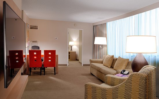 2 Bedroom 2 Bathroom Suite Picture Of Embassy Suites By Hilton