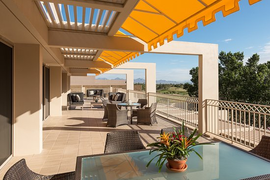 The Phoenician, Scottsdale : Presidential Suite Patio