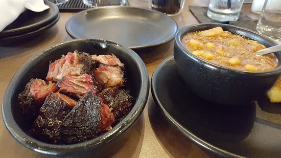 Burnt Ends With Brunswick Stew And Cornbread Picture Of Brick City Southern Kitchen And Whiskey Bar Ocala Tripadvisor