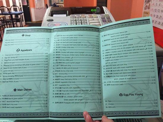 New menus , Picture of Bamboo Garden, St. John\u0027s , TripAdvisor