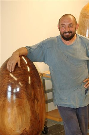Snow Hill, MD: Anatoly Tsiris with his beautiful vessel