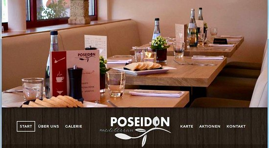 Krumbach, Niemcy: Restaurant Poseidon Mediterran