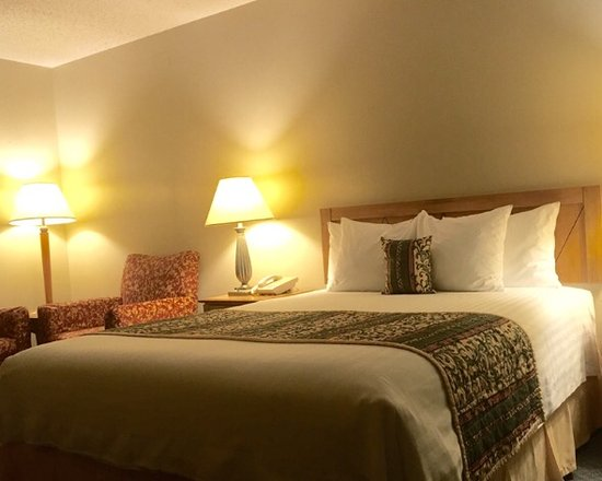 Thunderbird Lodge: Motel room with queen pillow top mattress