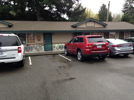 Poulsbo, واشنطن: Room 20, easy parking