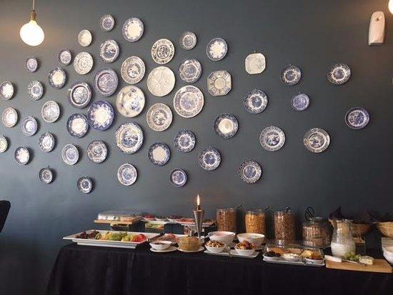 The Winston Hotel: cafe da manha